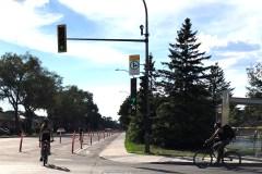 Des pistes cyclables suscitent la grogne