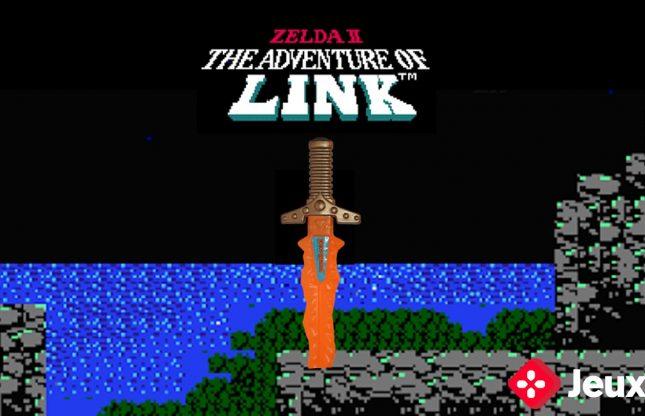En direct ce soir: Zelda 2 au NES avec handicap Épée en « robeur »