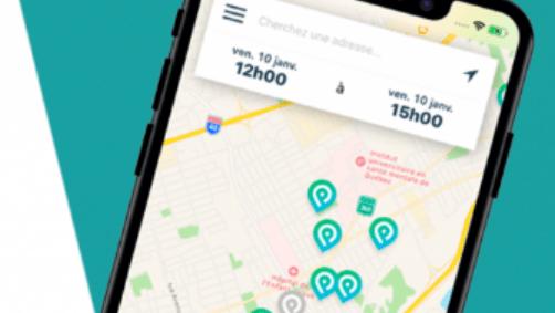 Une application pour trouver du stationnement près de la Wellington