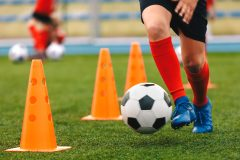 Prudence pour le camp de soccer de Saint-Laurent