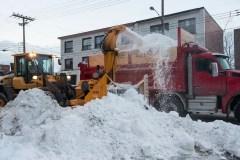 Dépôt de neige réglementé dans les ruelles à Ahuntsic-Cartierville