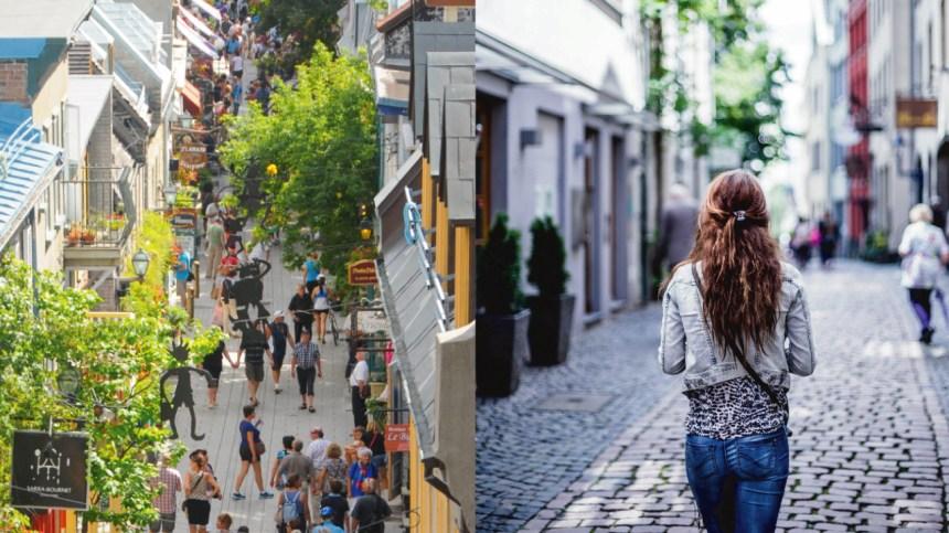Plusieurs rues piétonnes à Québec pour l'été