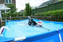 Transformer sa piscine en corridor de nage infini