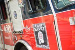 Incendie majeur  à Lachine