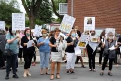 CHSLD Angelica: recueillement des familles des victimes