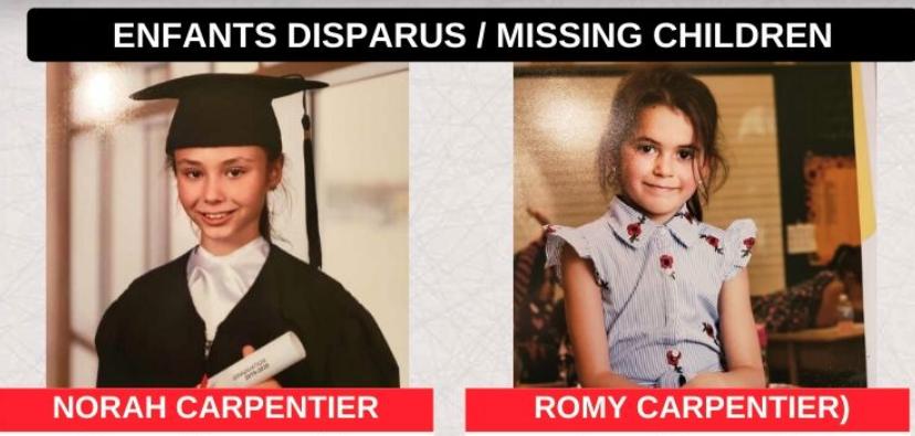 Alerte AMBER: la Sûreté du Québec annonce la découverte des corps de deux fillettes