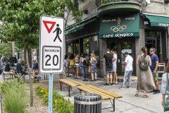 Commerçants: des rues partagées verront le jour dans le Mile End