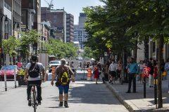Rues piétonnes: le passage de nombreux cyclistes sème la grogne