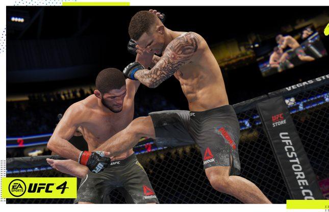 EA Sports annonce UFC 4