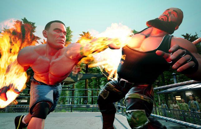 WWE 2K Battlegrounds montera sur le ring en septembre