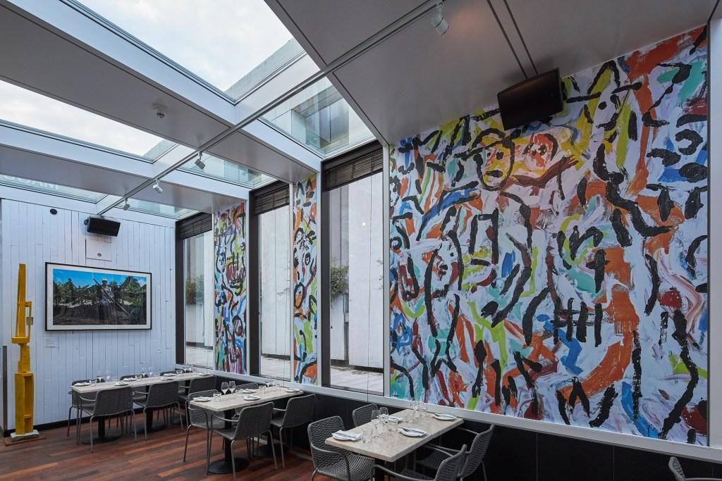 Intérieur du restaurant Kamuy