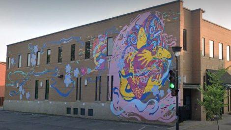 Murale Société alzheimer de Montréal