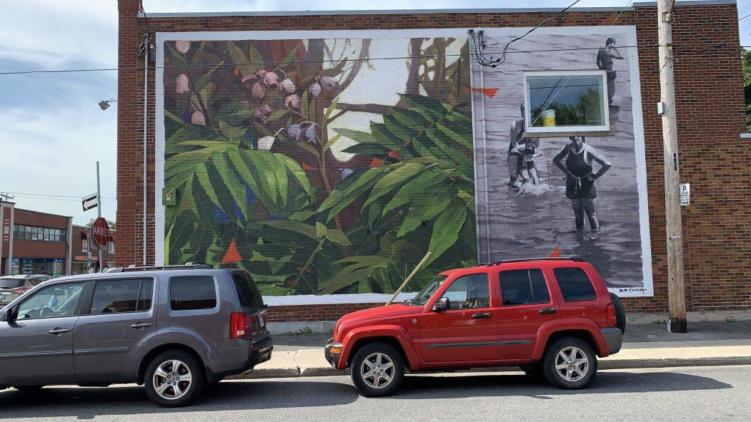 Pour la première fois, une grande exposition d'art contemporain dans l'espace public, intitulée La Grande Promenade, bat son plein à LaSalle.