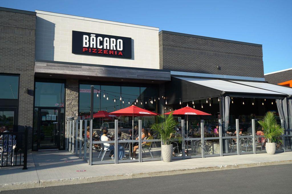 Devanture du restaurant Bacaro
