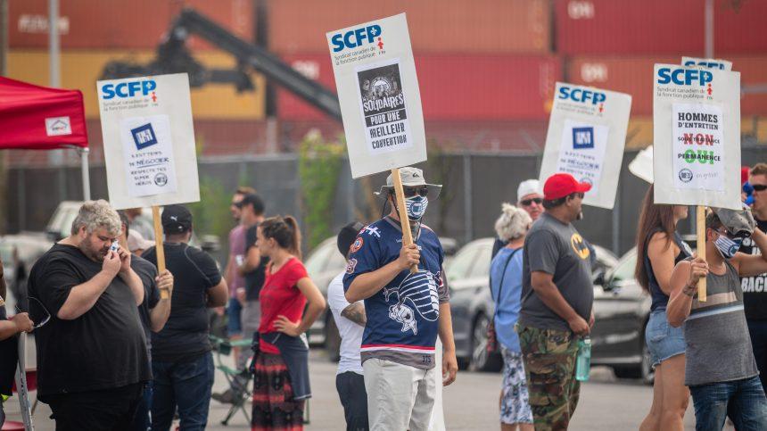 Grève au port de Montréal: l'intervention immédiate d'Ottawa réclamée