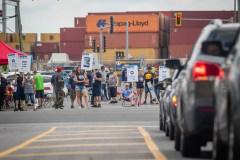Grève générale illimitée au port de Montréal