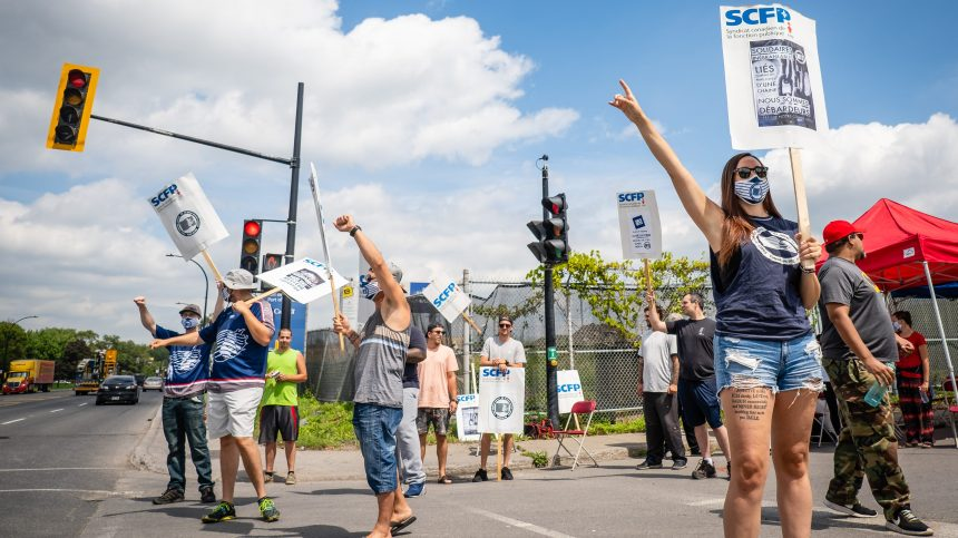 Port de Montréal: près de 40% des PME du Québec écopent de la grève