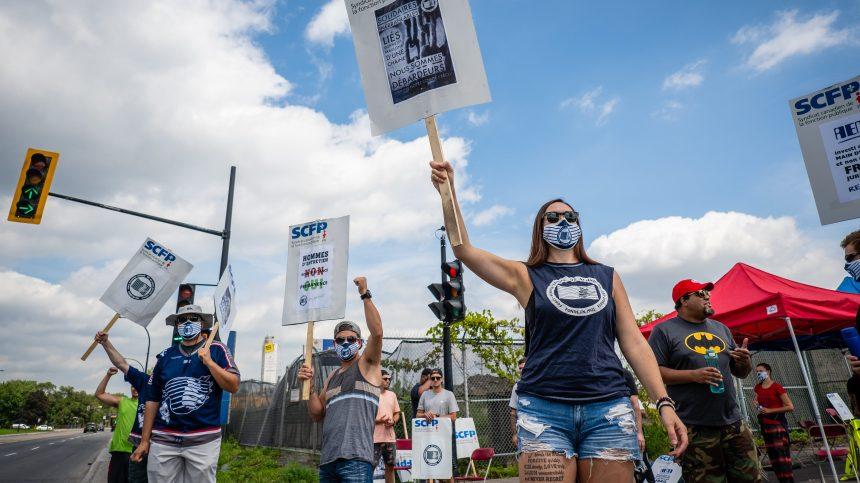 Grève au port de Montréal: les ministres Tassi et Joly appellent à la négociation