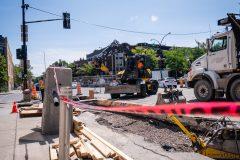REV: début des travaux sur Saint-Denis sur fond de divisions