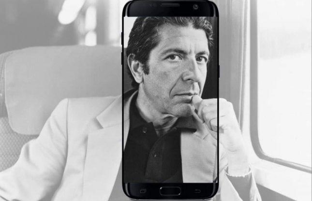 Suivez les traces de Léonard Cohen en marchant dans la ville