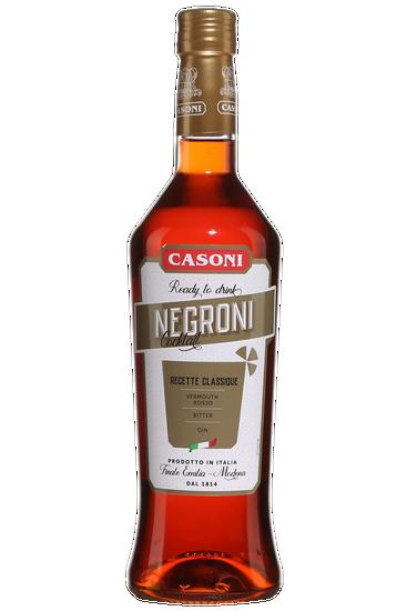 Bouteille de Casoni Negroni