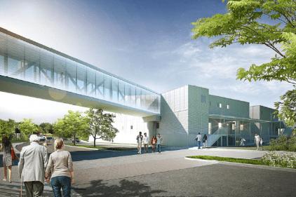 Un nouveau bâtiment relié à l'Hôpital de Verdun