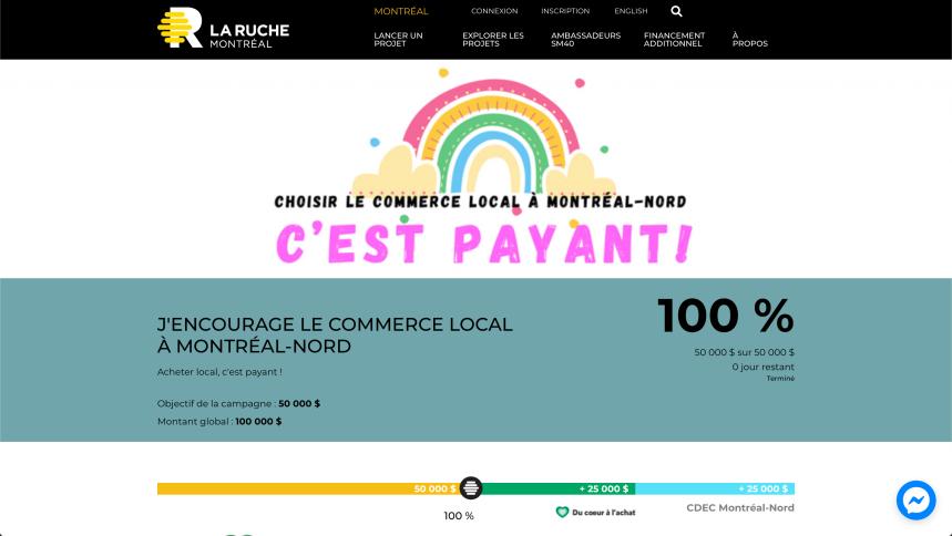 Relance des commerces : les Nord-Montréalais répondent à l'appel