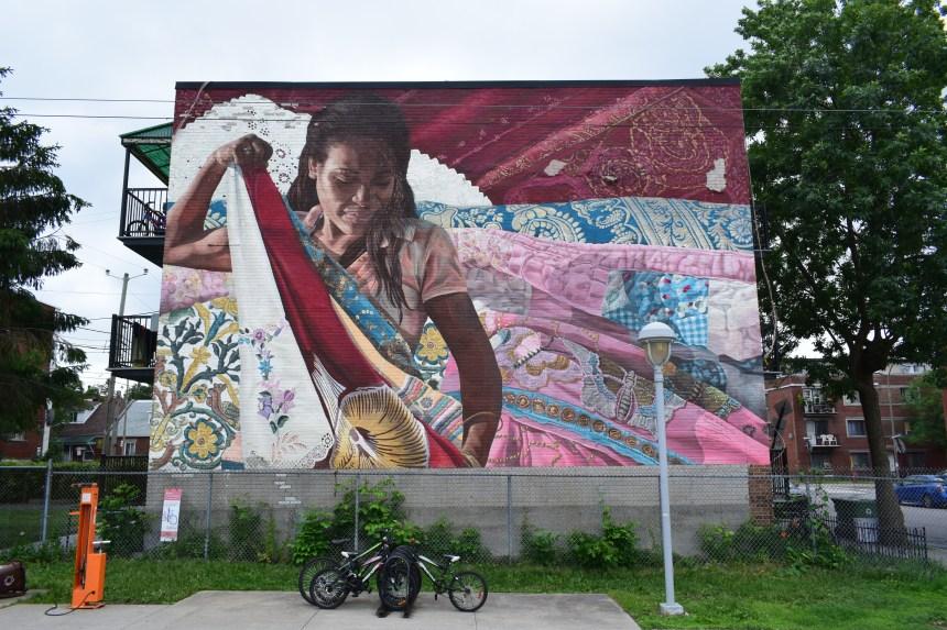 Vacances en ville: à la découverte de l'art public de l'est montréalais