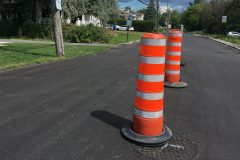 Des cônes pour faire respecter le sens unique sur Gouin