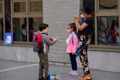 Rentrée à Montréal: une nouvelle réalité pour des milliers d'écoliers