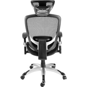 Chaise de bureau, vue de dos
