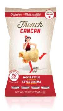 Sac de popcorn style cinéma