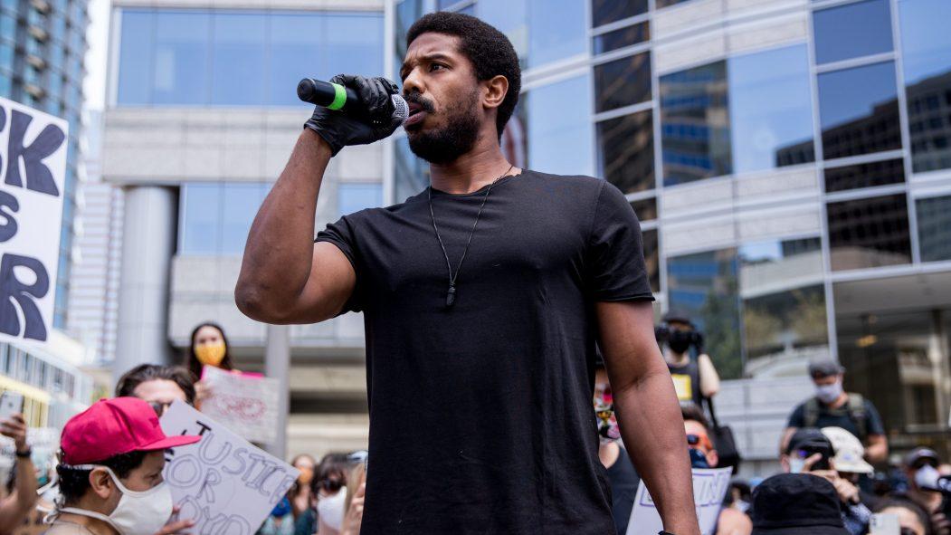 Michael B. Jordan. L'acteur américain en sera l'un des ambassadeurs aux côtés d'Opal Tometi, la co-fondatrice du mouvement Black Lives Matter.