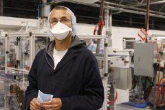 Medicom: une usine montée en trois mois pour contrer la COVID-19