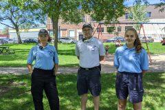 Des jeunes en patrouille pour la sécurité dans Rosemont