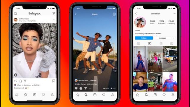 Instagram Reels clips vidéos musique AR