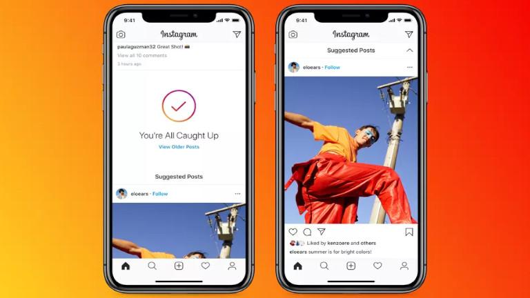 Instagram recommandation publications comptes intérêts connexes