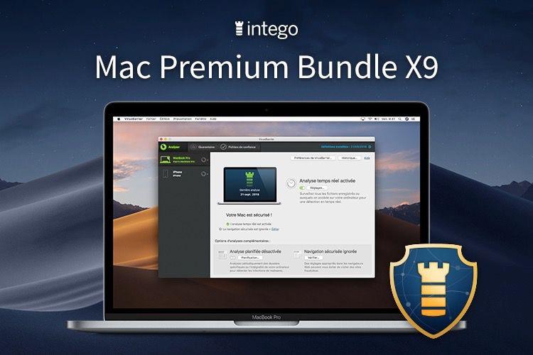 Intego Mac Prenium Bundle X( antivirus Apple