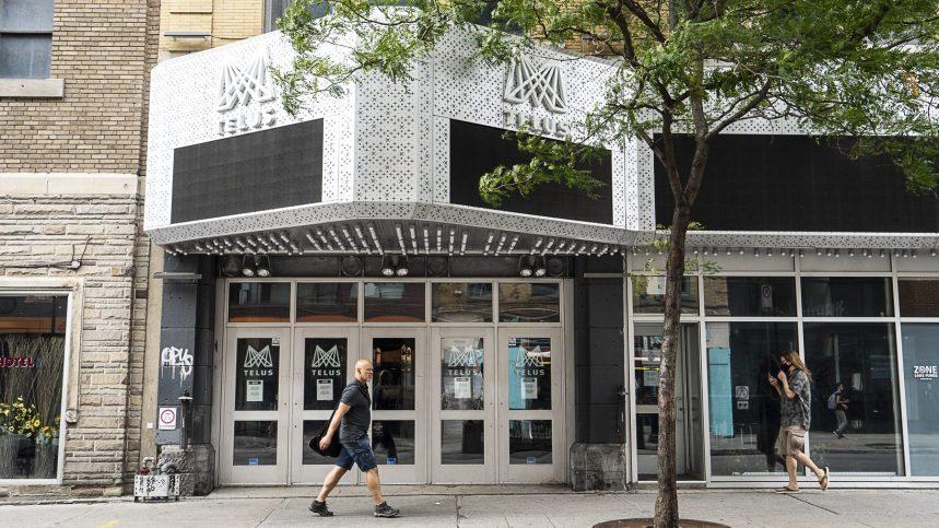 Une aide de 6 millions pour les salles de spectacles