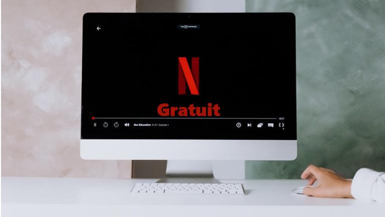 Netflix offre séries films gratuits