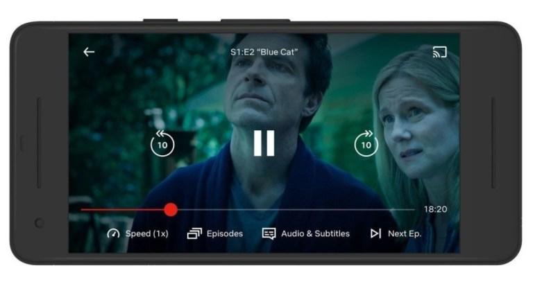 Netflix vitesse lecture vidéo