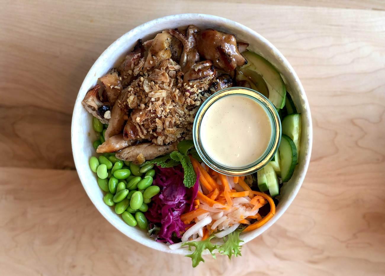 Bol de nourriture vietnamienne