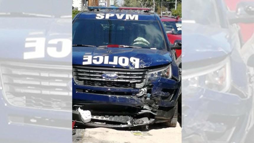 Délit de fuite à Montréal-Nord: un véhicule de police percuté