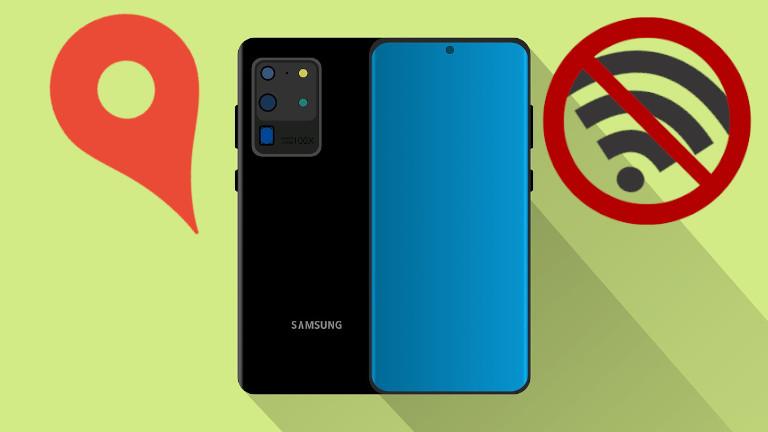 Téléphone Samsung retrouver localisation sans réseau