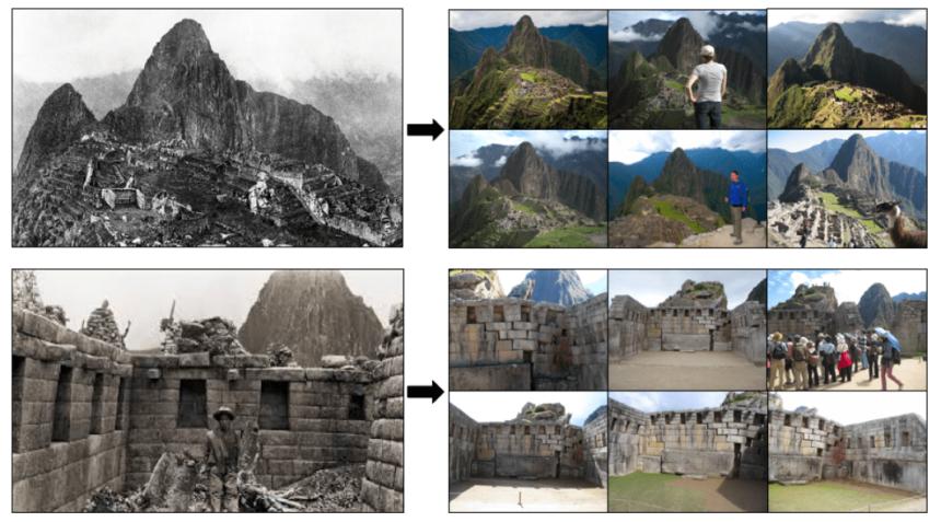 D'après une étude, la plupart des touristes prennent la même photo