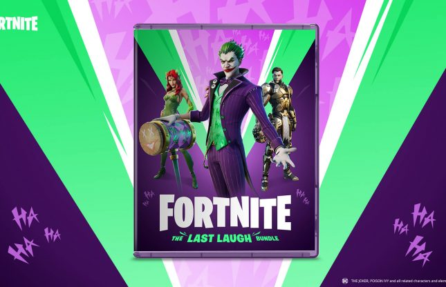 Les vilains de DC à l'honneur avec Fortnite: The Last Laugh Bundle