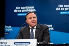 Menaces contre François Legault: la SQ annonce avoir interrogé deux hommes