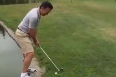 Jouer au golf peut s'avérer risqué…