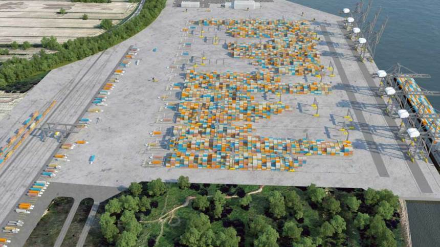 Terminal Contrecoeur: le Port de Montréal recherche des soumissionnaires