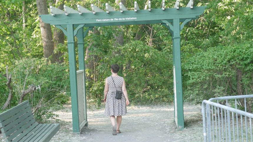 La Visitation, l'église et le parc